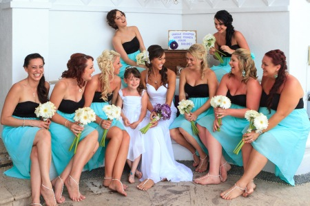 Puerto Vallarta beach wedding photography at La Mansion Puerto Vallarta by LiMe fotografia Raul Perez Amezquita wedding brides