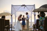fotografia para boda de playa Puerto Vallarta beach wedding