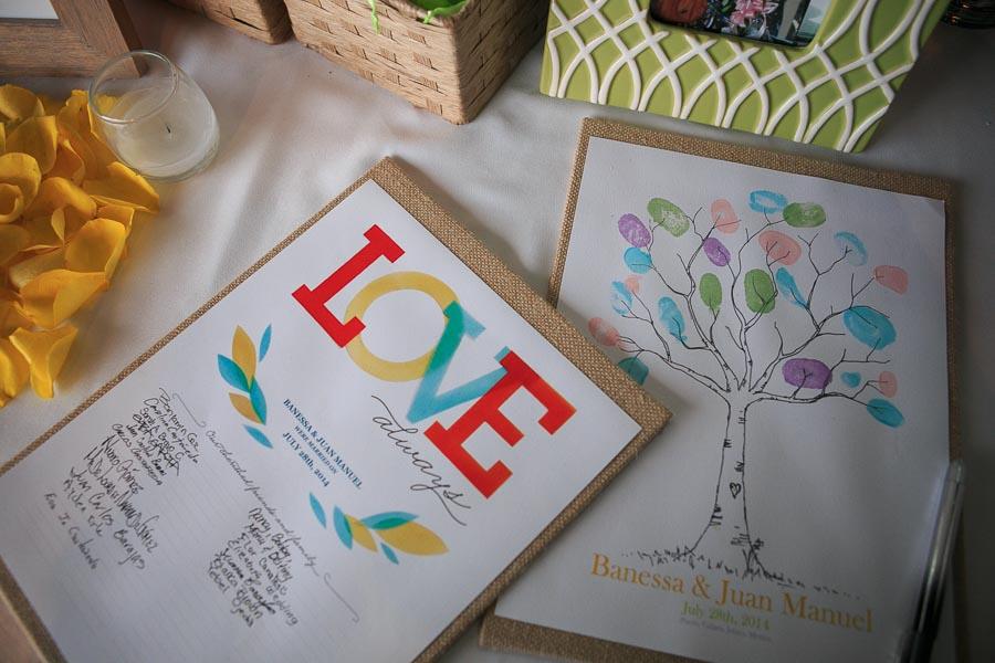 fotos detalles bodas de playa Costa Sur resort Puerto Vallarta Mexico beach wedding details