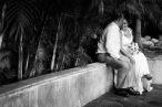 Intimate Puerto Vallarta beach wedding photography LiMe fotografia at Le Kliff restaurant