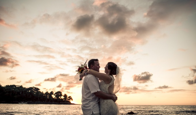 Intimate Beach Wedding in a hidden gem: Chacala, Nayarit.