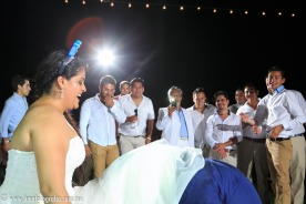 fotos para boda en playa en Puerto Vallarta hotel Hard Rock Vallarta beach wedding photographer