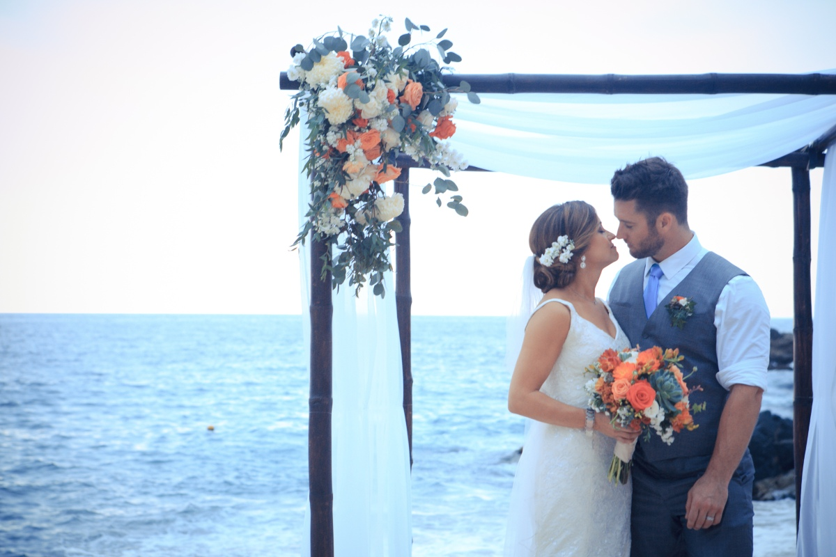 Puerto Vallarta Beach Wedding Photographer Villa Celeste Playa Amapas