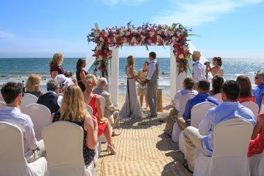 Villa del Palmar Flamingos Nuevo Vallarta Wedding Beach Photographer AM_1504181547-2