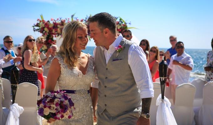 A + M Beach Wedding at Villa del Palmar Flamingos, NuevoVallarta