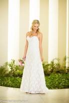 Fotos de boda en playa Hilton Puerto Vallarta All Inclusive Resort vestido de novia