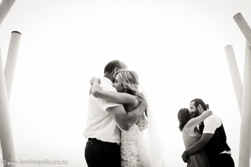 Hilton Puerto Vallarta Beach Wedding Pictures bride