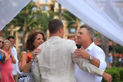 Beach wedding photographer Nuevo Vallarta Mexico Villa del Palmar Resort