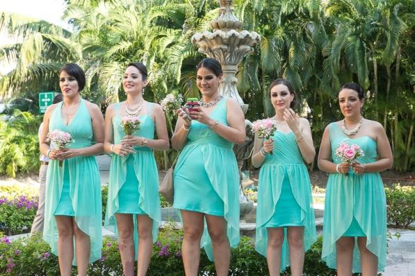 fotos de boda en playa Palladium Resort Punta de Mita Nayarit