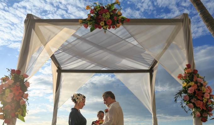 N+K Intimate beach wedding at Casa Karma, PuertoVallarta