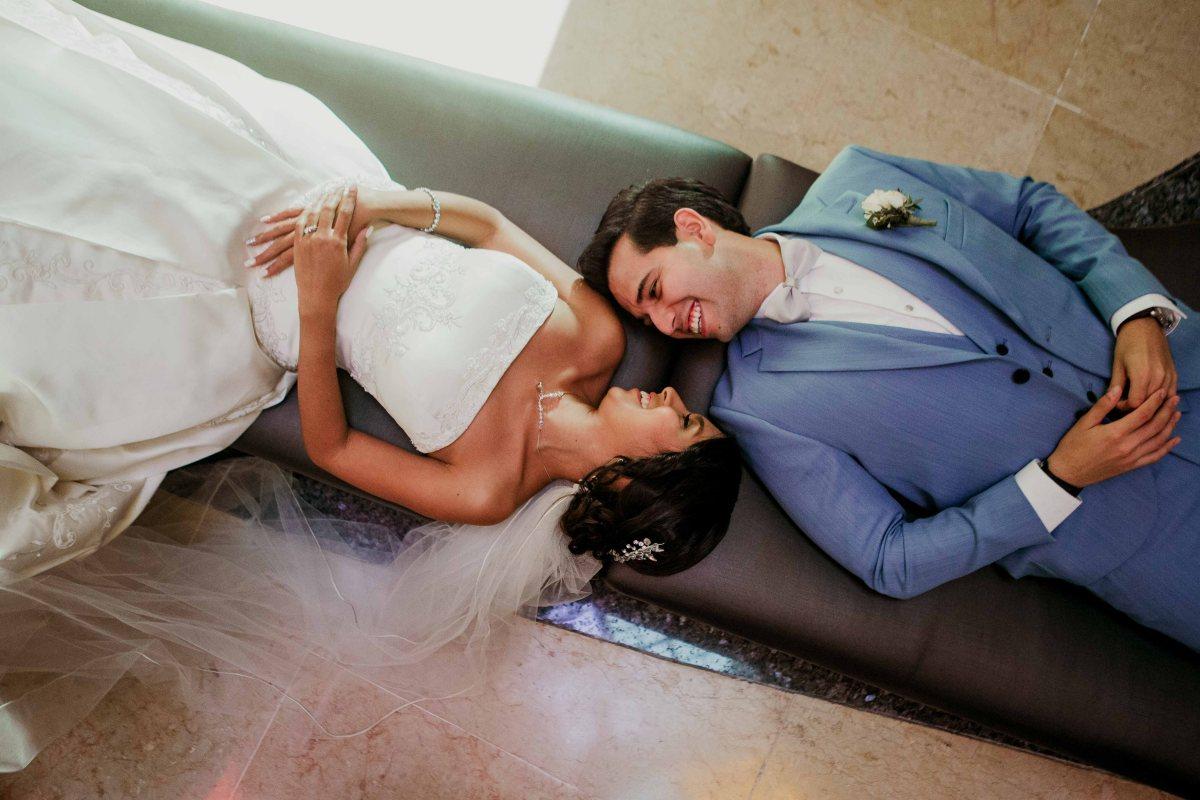 P + D boda en playa Hard Rock HotelVallarta